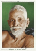 Photo of Bhagavan Sri Ramana Maharshi.